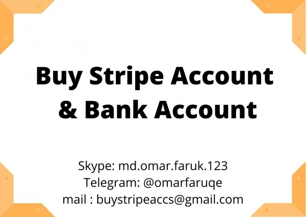 Buy Stripe Account